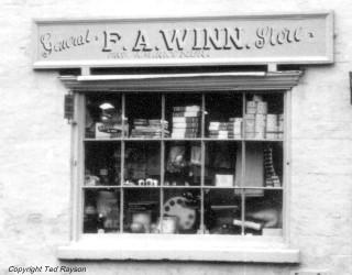 F. A. Winn shop window