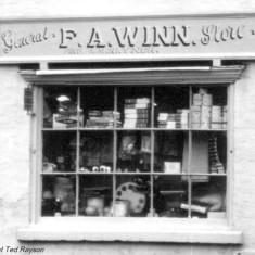 F.A. Winn Shop Window