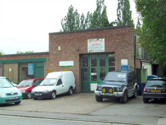 Woodhouse and Carman's occupies the Christmas and Chorlton site today.