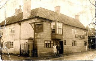 The Bull Hotel 1930  - Nancy Goodson and Herbert Goodson