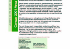Bottesford Census 2001