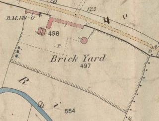 Hoe's brickyard, Easthorpe, 1884.