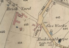 Locating Bottesford's brickyards and gas works