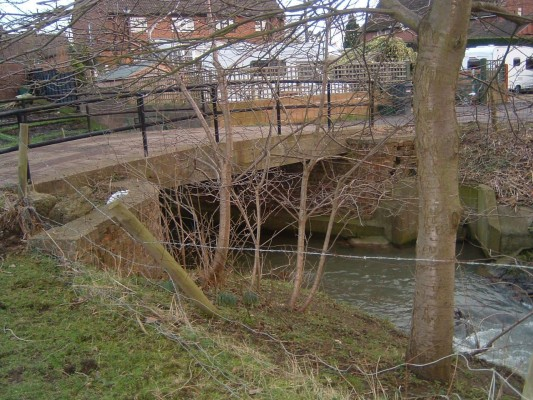 At the end of Albert Street there is another small bridge that also leads to Devon Farm.