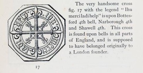 London Foundry mark on Bottesford's 4th bell