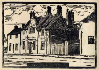 Mr Copelands Market Street premises (now Paul's Restaurant) and the Coffee House (now a private residence)