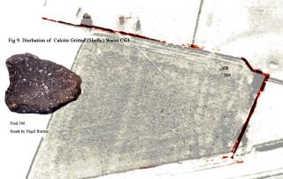 Fig 9 Distrubution Map Results CGlA CG1B 'Shelly Ware'