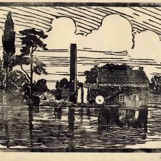 Easthorpe Mill on the River Devon