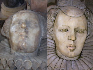 Elizabeth Sidney Countess of Rutland drawn from the Effigy in St Mary's Church