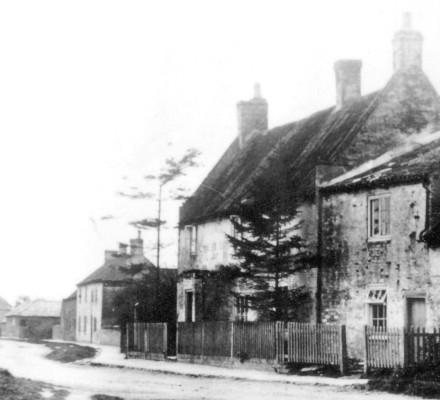 Cottages, now Corner House C. 1900