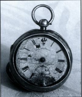 Pocket watch belonging to Flight Engineer Jack Greenwood