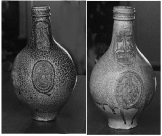 The Long Clawson Bellarmine Witchbottles