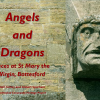 Angels and Dragons: faces at St Mary the Virgin, Bottesford