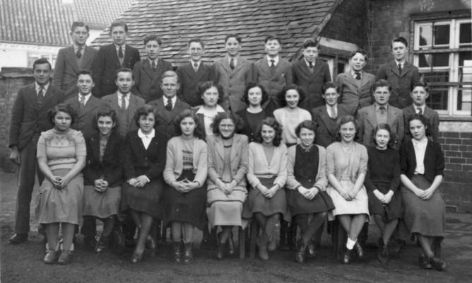 Bottesford village school senior pupils, c.1955