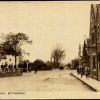 Old postcard, Grantham Rd, Red Lion, village school