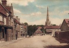 Bottesford Market Place postcard 2