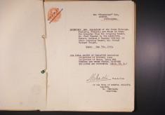 Wheatsheaf, Muston, misc documents