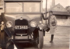 My grandfather's bus - in Market Place, Bottesford