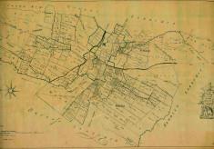 Pariliamentary Enclosure Award map, 1771