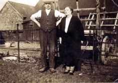 Herbert Daybell's parent, at the farm