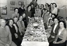 A Mothers Union dinner