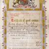 Leicestershire Regt 1892, good service certificate