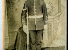 Frank Norris in uniform