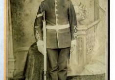 Frank Norris in uniform