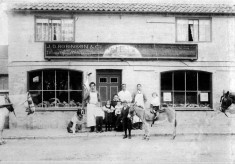 JD Robinson's butchers shop