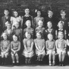 Village school children, Neville Spick's schooldays - the 6-7 year olds