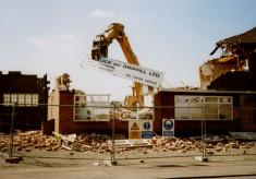 Demolition of Bullock & Driffil's 4