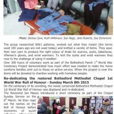 Village Voice Issue No 77 WW1 Centenary | Bottesford Village Voice