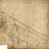 Detailed Bottesford village map of 1884, Ordnance Survey