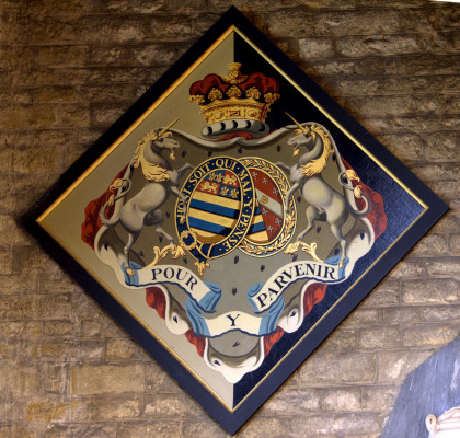 Hatchment: Elizabeth Howard, 5th Duchess of Rutland, d.1825 | Neil Fortey