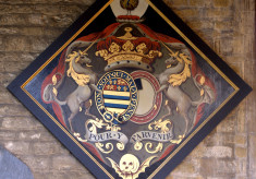 Hatchment: John Manners, 3rd Duke of Rutland K.G., born 1696, died May 1779