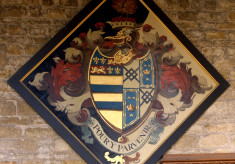 Hatchment, John Manners of Hanby Hall, died September 1792