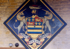 Hatchment, probably for Thomas Baptist Manners, died June 1705