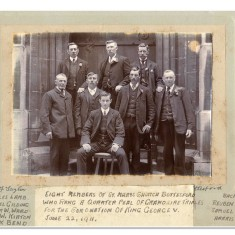 Bell Tower ringers 1911