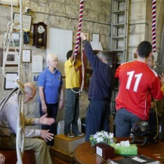Visiting the Tower and having a go - St Mary's Bells