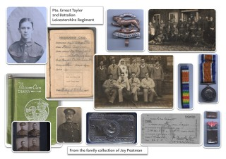 Pte. Ernest Taylor - Joy Peatman Collection