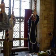 St Mary's Bottesford belfry - 1st November 2014