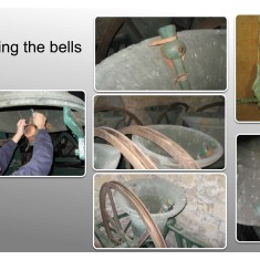 Muffling bells - Bottesford Tower