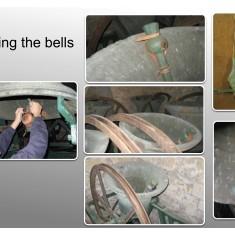 Muffling bells - Bottesford Tower