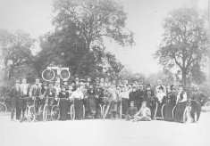 Nottingham Bicycle Club at the Denton/Woolsthorpe/Harlaxton cross roads