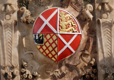 The shield of Margaret Neville, 2nd Countess of Rutland.