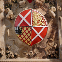 The Neville shield, representing the 2nd Countess of Rutland | Neil Fortey