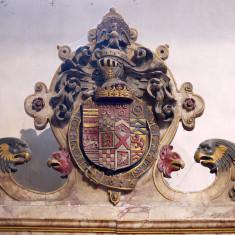 Heraldic shield of Edward Manners, 3rd Earl of Rutland | Neil Fortey