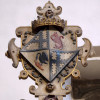 Countess Isabel, the second of two small shields with her coat of arms