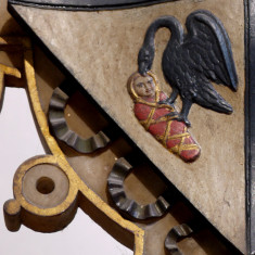 Detail of Countess Isabel's shield | Neil Fortey