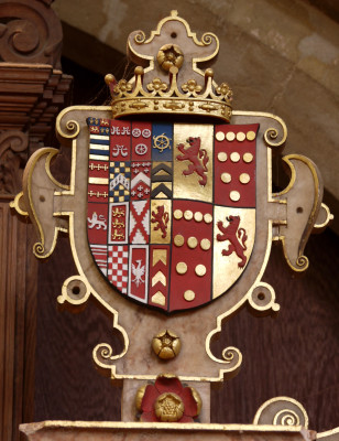 Arms of John Manners, 4th Earl, and Countess Elizabeth | Neil Fortey